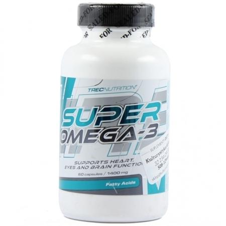 TREC NUTRITION - SUPER OMEGA-3 (120cap).
