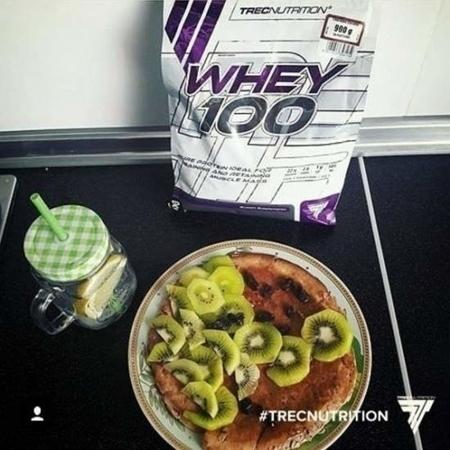 TREC NUTRITION WHEY 100 - 900 G (różne smaki)
