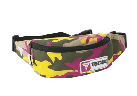 Trec Wear - Bumbag Sport 010 TrecGirl Pink-Yellow
