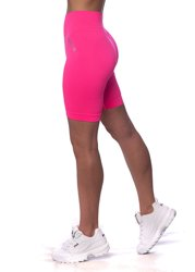 BEZSZWOWE BIKERY NEON PINK (PUSH UP)