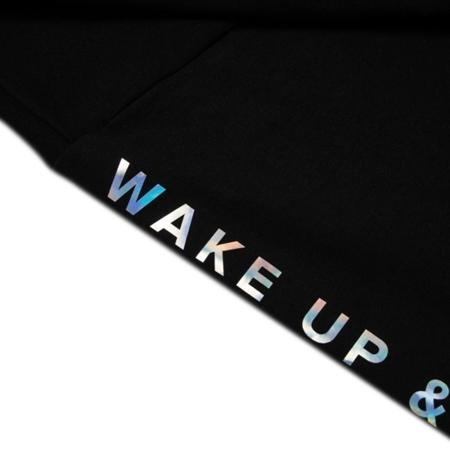 WAKE UP AND SQUAT - Krótka wycięta bluza