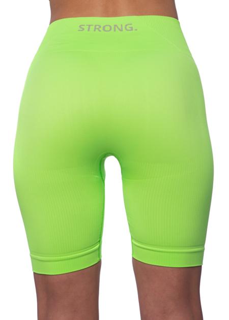BEZSZWOWE BIKERY NEON YELLOW-GREEN (PUSH UP)