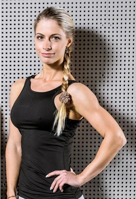 NEBBIA - Koszulka fitness MODEL N268 BLACK (dwustronna 2w1)