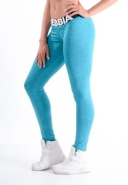 NEBBIA - LEGGINSY MODEL N222 BLUE (PUSH UP)