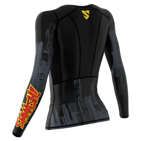 SMMASH - COMPRESSION TOP R5 BATCAT