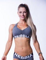 NEBBIA - TOP MELANGE MODEL N223 DARK GREY